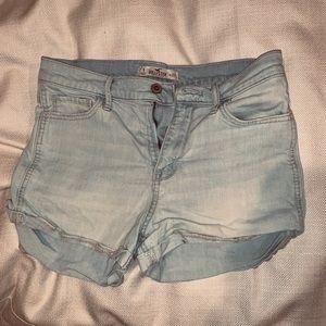 Hi-rise Hollister Shorts